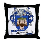 Morrison Family Crest Throw Pillow