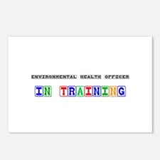 Environmental Health Officer In Training Postcards