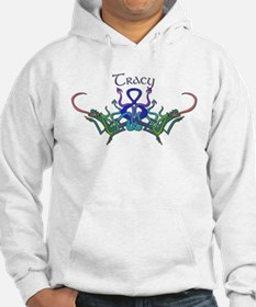 Tracy's Celtic Dragons Name Hoodie Sweatshirt