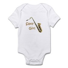 Saxy Girl Infant Bodysuit