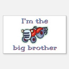 Big brother 4 Rectangle Decal