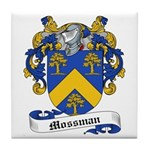 Mossman Family Crest Tile Coaster