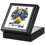 Mossman Family Crest Keepsake Box