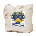 Mossman Family Crest Tote Bag