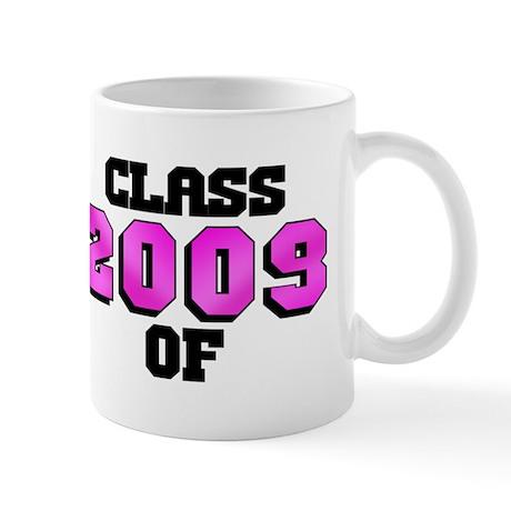 Class of 2009 Pink Logo Mug