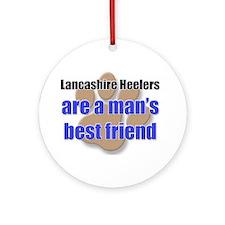 Lancashire Heelers man's best friend Ornament (Rou