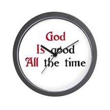 God Is Good Wall Clock