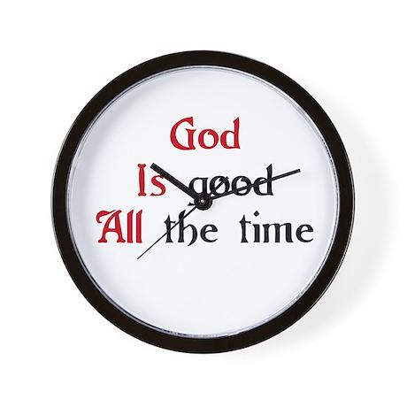 God Is Good Wall Clock