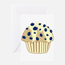 Blueberry Muffin Greeting Card