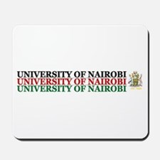 UON Black Red Green Mousepad