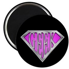 SuperGeek(Pink) Magnet