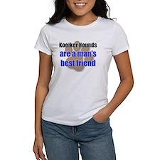Kooiker Hounds man's best friend Tee