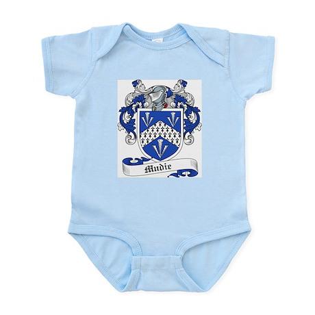 Mudie Family Crest Infant Creeper