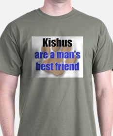 Kishus man's best friend T-Shirt