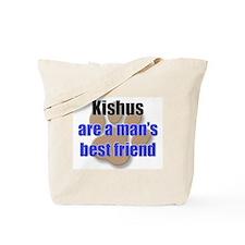 Kishus man's best friend Tote Bag