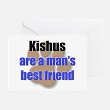 Kishus man's best friend Greeting Cards (Pk of 10)