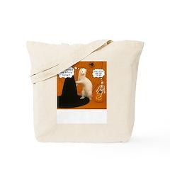 She Turned Me... - Ferret Tote Bag