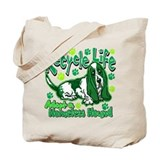Basset hound recycle Totes & Shopping Bags