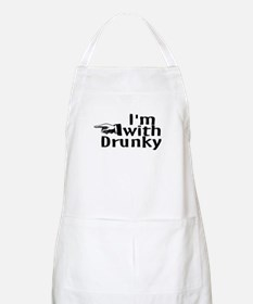 Drinks Well With Others BBQ Apron