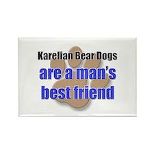 Karelian Bear Dogs man's best friend Rectangle Mag
