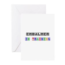 Embalmer In Training Greeting Cards (Pk of 10)