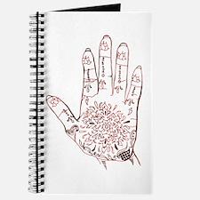 Henna Hand Journal