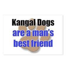Kangal Dogs man's best friend Postcards (Package o