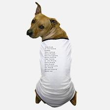 Jane Eyre Names Dog T-Shirt