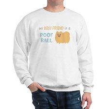 Pomeranian Poof Ball Sweatshirt