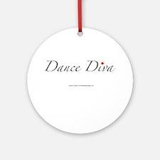 Dance Diva Ornament (Round)