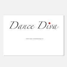 Dance Diva Postcards (Package of 8)