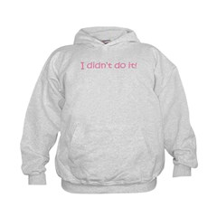 I DIDN'T DO IT! Hoodie