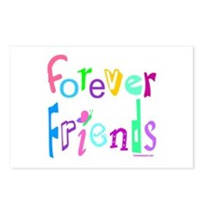 FOREVER FRIENDS Postcards (Package of 8)