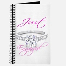 Cute Engaged Journal