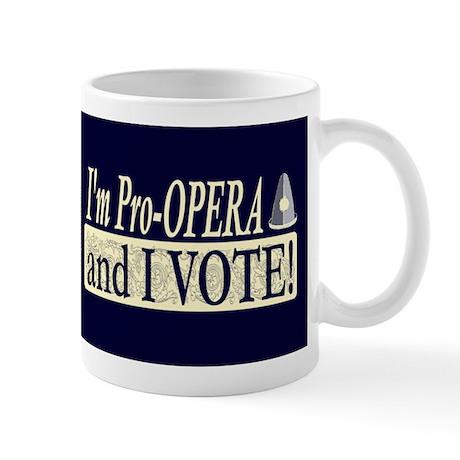 I'm Pro Opera Dark Mug