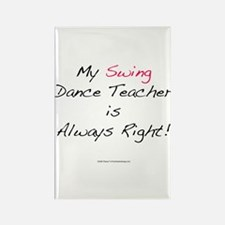 My Swing Dance Teacher Rectangle Magnet