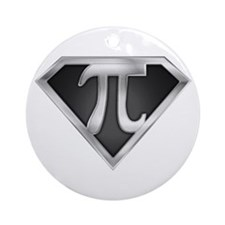 SuperPI(metal) Ornament (Round)