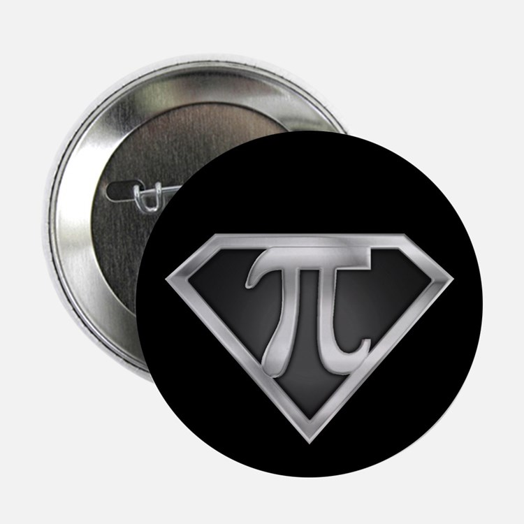 "SuperPI(metal) 2.25"" Button (10 pack)"