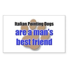 Italian Pointing Dogs man's best friend Decal