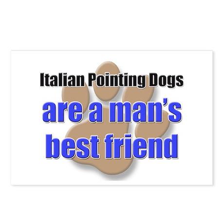 Italian Pointing Dogs man's best friend Postcards