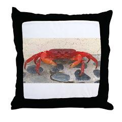 Mexican Land Crab Throw Pillow