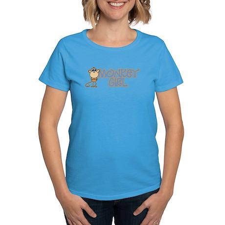 Monkey Girl Women's Dark T-Shirt