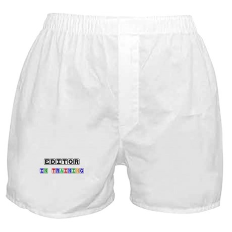 Editor In Training Boxer Shorts