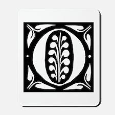 Art Nouveau Initial O Mousepad
