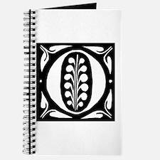 Art Nouveau Initial O Journal