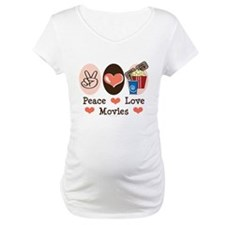 Peace Love Movies Shirt