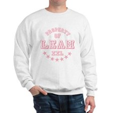 Property of Leah Personalized Sweatshirt