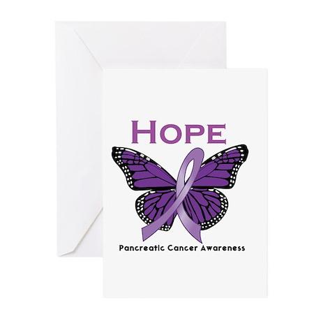 Pancreatic Cancer Greeting Cards (Pk of 10)
