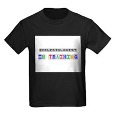 Ecclesiologist In Training Kids Dark T-Shirt