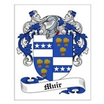Muir Family Crest Small Poster